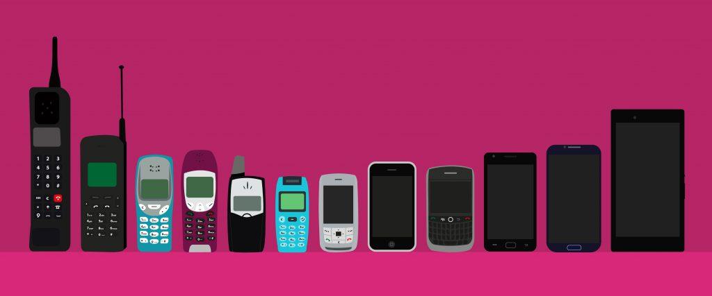 mobile-phone-evolution